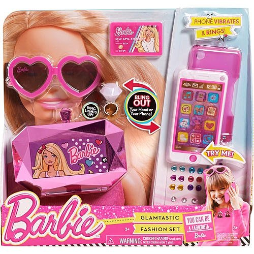 Barbie Phone (Barbie Glamtastic Fashion Set)