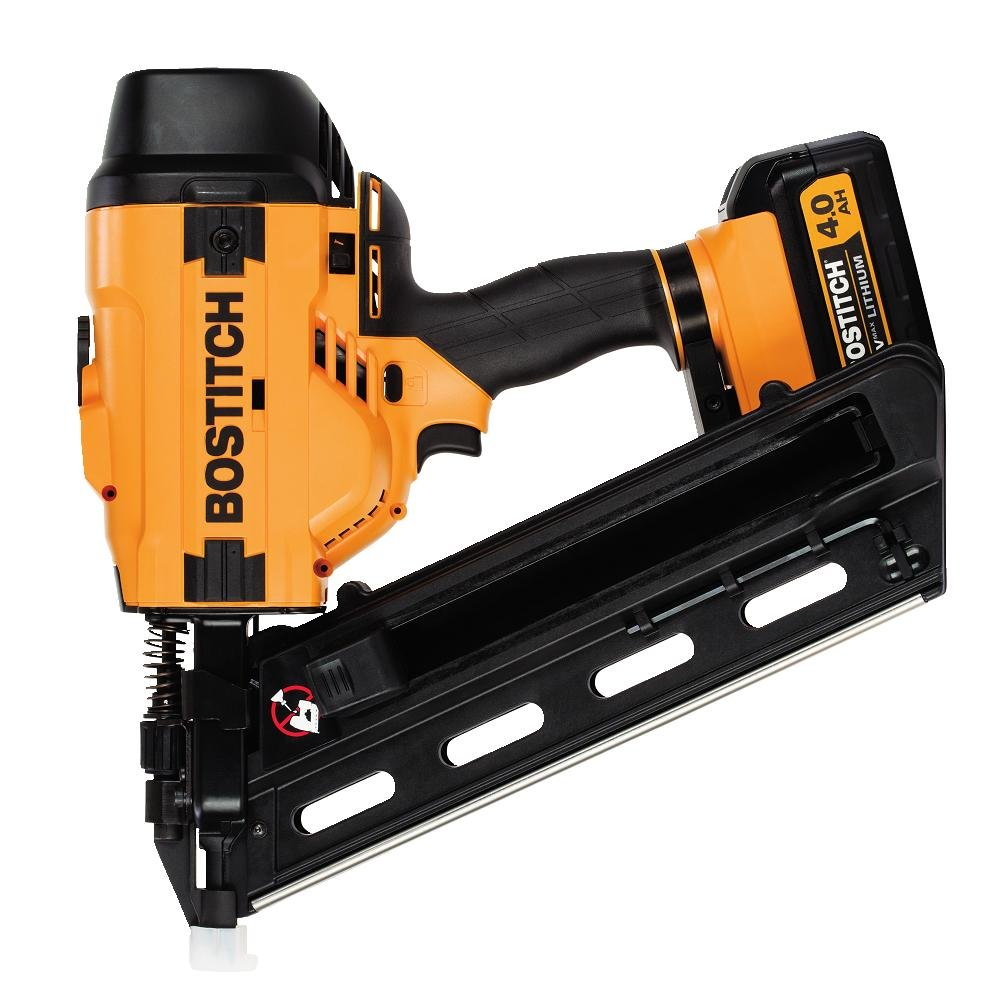 BOSTITCH BCF28WWM1 20V MAX 28 Degree Wire Weld Cordless Framing Nailer (Includes Battery and Charger)