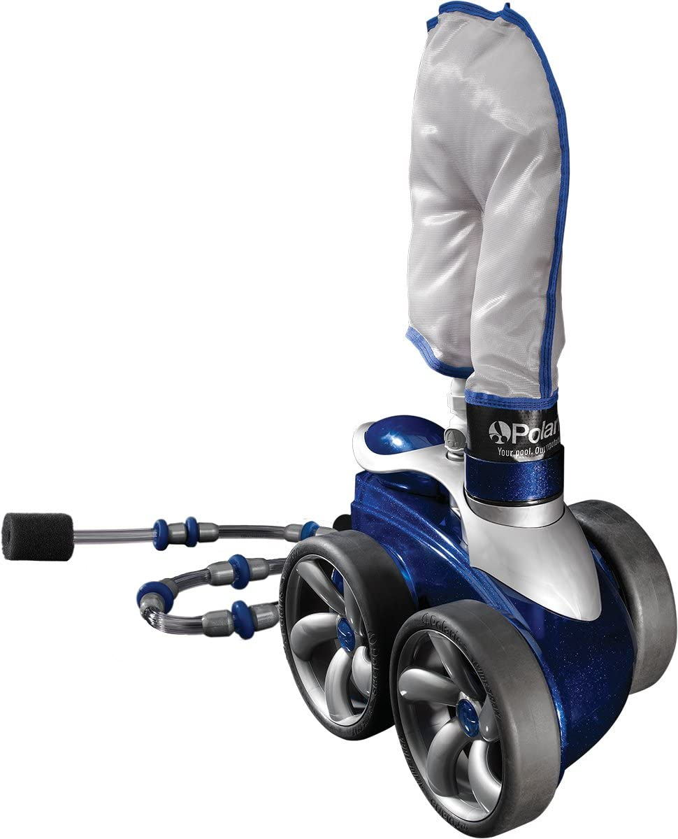 Best Durable: Polaris Vac-sweep sport pressure side pool cleaner