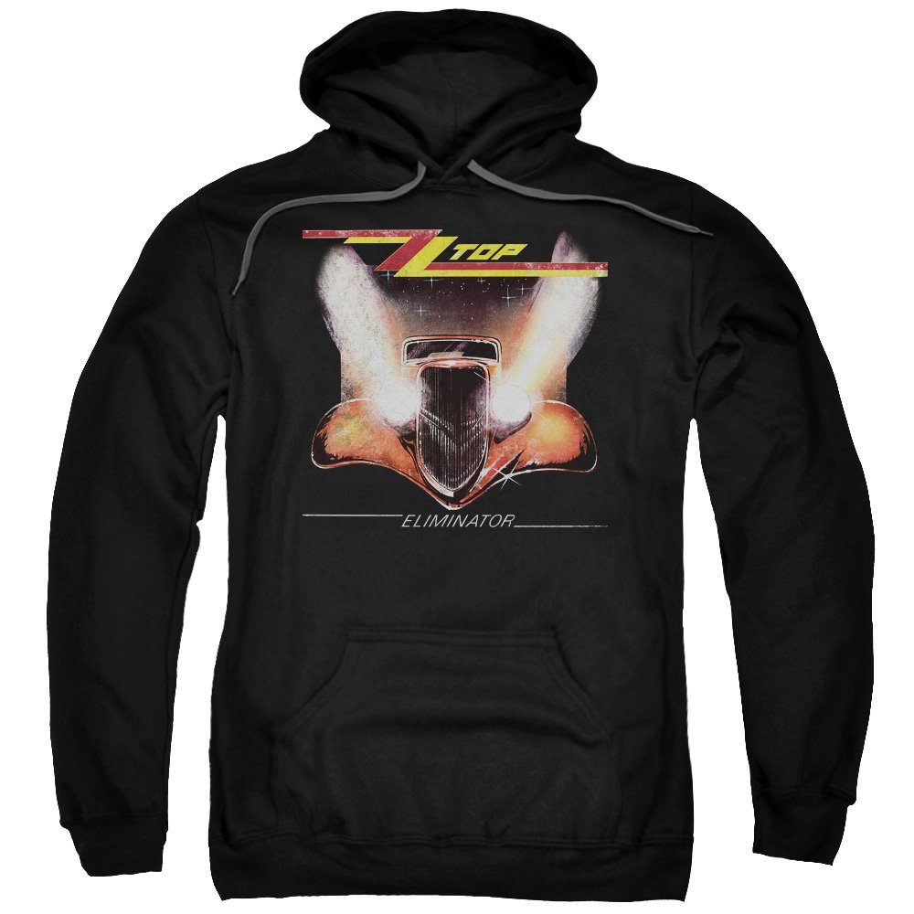 Zz Top Mens Eliminator Cover Pullover Hoodie