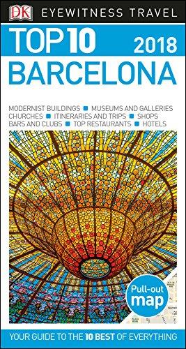 Top 10 Barcelona  Eyewitness Top 10 Travel Guide