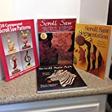 img - for Scroll Saw (Four Books): Scroll Saw Art: Realistic Pictures in Wood; Scroll Saw Segmentation: Patterns, Projects & Techniques; Scroll Saw Relief; 128 Compound Scroll Saw Patterns book / textbook / text book