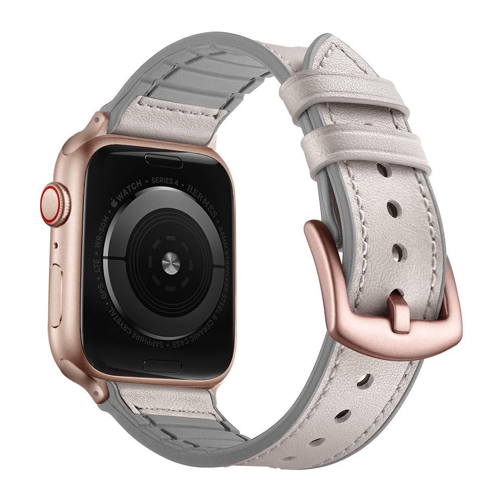 Malla Cuero para Apple Watch (42/44mm) OUHENG [7ML2R6JG]