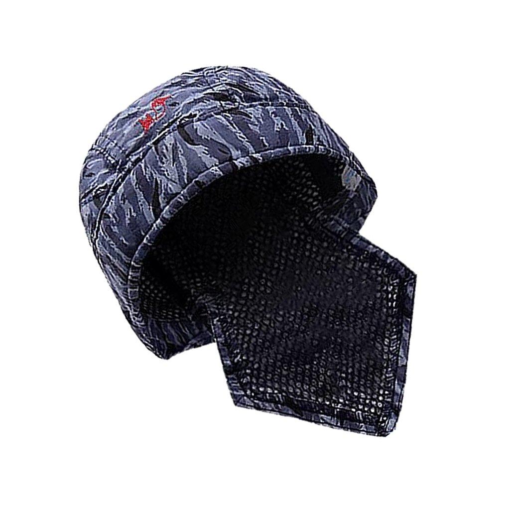 MagiDeal Schweiß en Schweiß er Schü tzende Hut Kappe Schal Flammhemmende Baumwolle Helm non-brand