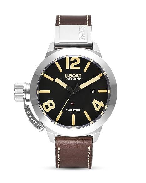 Reloj Automático U-Boat Classico, Tungsteno, Negro, 45mm, 8094: Amazon.es: Relojes