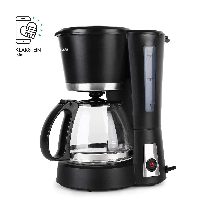 Klarstein Minibarista - Cafetera 550 W 0,6 L Negra: Amazon.es: Hogar