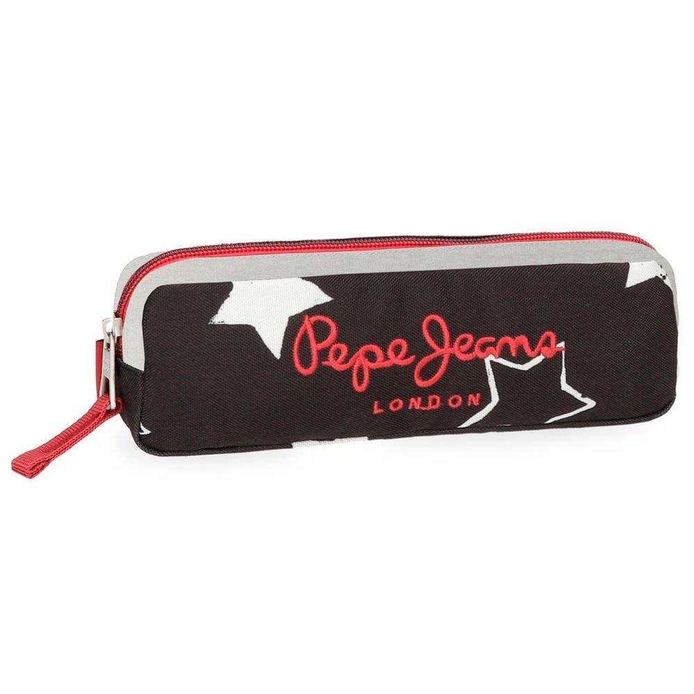 Pepe Jeans Jessa Neceser de Viaje, 22 cm, 0.46 litros, Negro 6134261