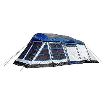 Tahoe Gear Glacier 20 x 12u0026quot; 14-Person 3-Season Family Cabin Tent  sc 1 st  Amazon.com & Amazon.com : Tahoe Gear Glacier 20 x 12