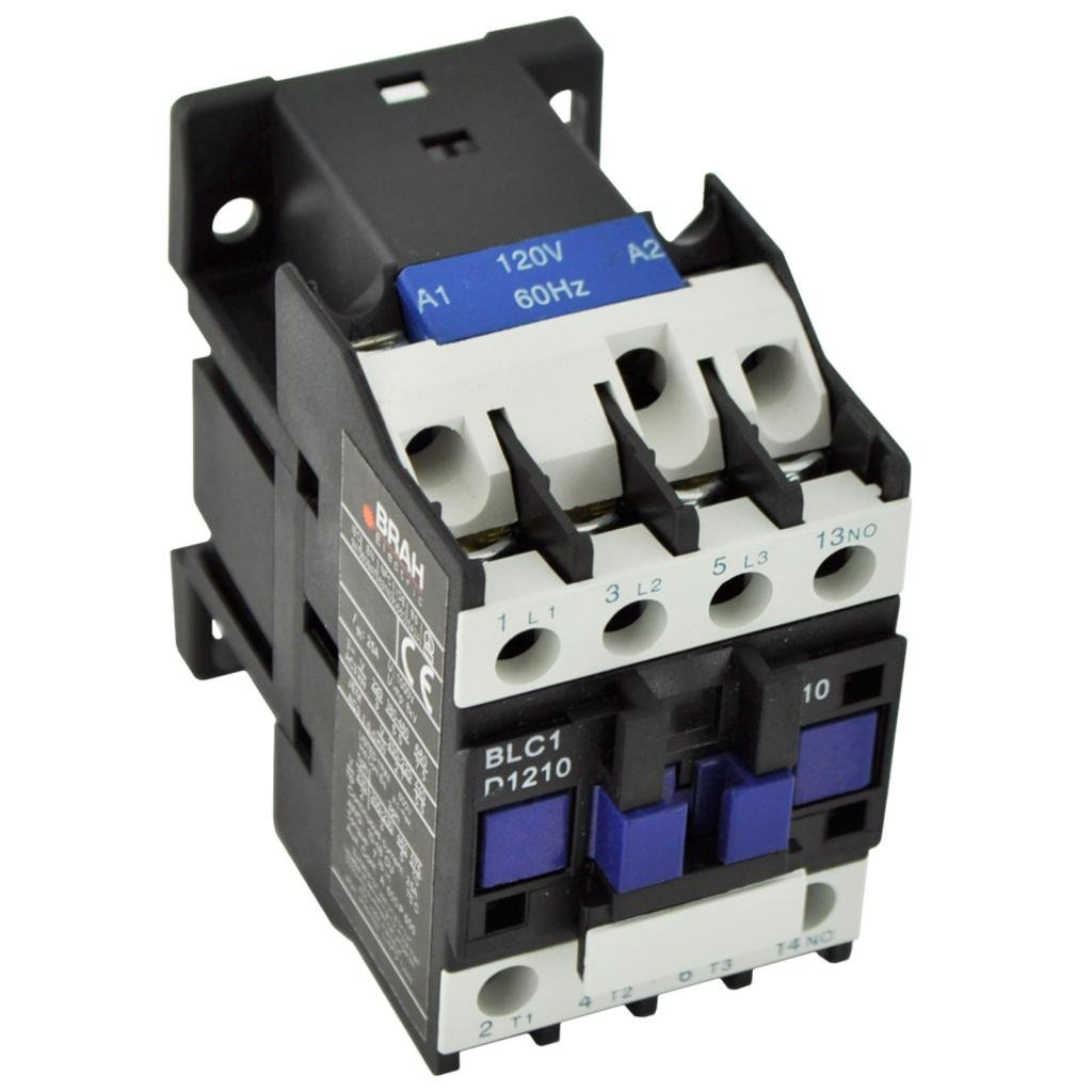 Direct Replacement for TELEMECANIQUE LC1-D12 AC Contactor LC1D12 LC1D1210-E7 48V Coil 3 Phase 3 Pole 12 Amp