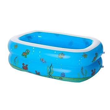 SYY Aufblasbarer Pool Aquarium, Planschbecken, Rectangular ...