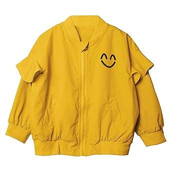 mamum abrigo – chaqueta Niña En Mango larga Zipper abrigo chaqueta 11(4-5Ans