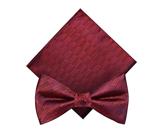 Corbata de moño Fibra de poliéster para Hombre Novio Boda Moda ...