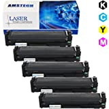 5 Pack Amstech Compatible Toner Cartridge Replacement for CF410X CF411X CF412X CF413X(410X) for HP Color Laserjet Pro M477FDN MFP M477FDW MFP M477FNW HP Color Laserjet Pro M452DN M452NW M452DW (2 CF410X Black ,1 CF411X Cyan ,1 412X Yellow ,1 CF413X Magenta)