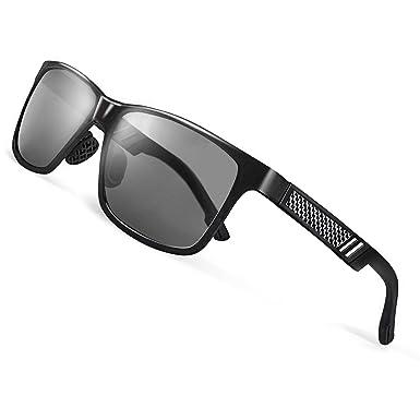 9ac1273393 CGID GD60 Classic Al-Mg Alloy Frame Polarized Sunglasses UV400