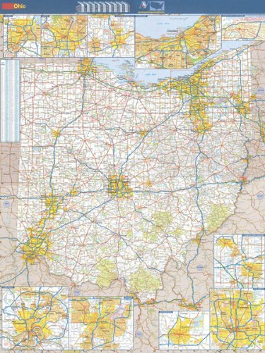 36x48 Ohio State Official Executive Laminated Wall Map pdf epub