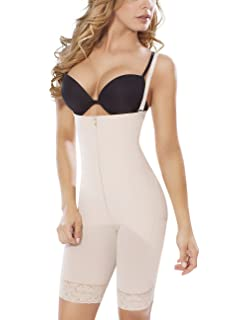 87e13197c MOLDEATE 5046 Knee-length Open Bust Body Shaper at Amazon Women s ...