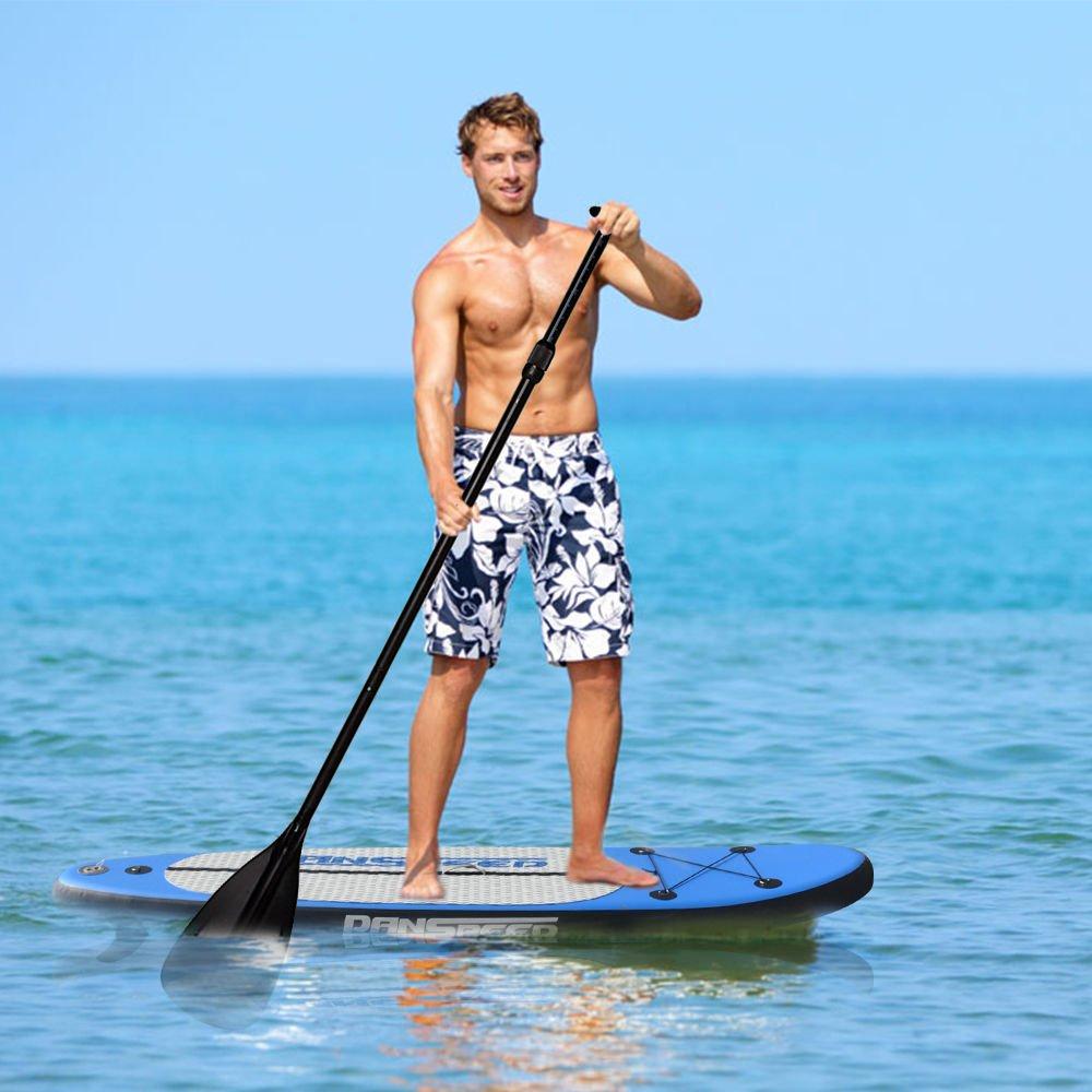 LINGJUN Tabla de Paddle Stand Up Paddle Sup hasta 140kg,305 x 75 x 15cm: Amazon.es: Deportes y aire libre