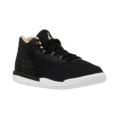 wholesale dealer 48355 38c99 Nike Jungen Jordan Academy BP Basketballschuhe, Black (Schwarz Weiß-Cool  Grey-