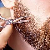 TecUnite 4 Pieces Beard Trimming Scissors