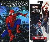 Amazing Spider-Man Bundle: Marvel Legends Spider-Man Figure & Spider-Man The New Animated Series Special Edition DVD SET