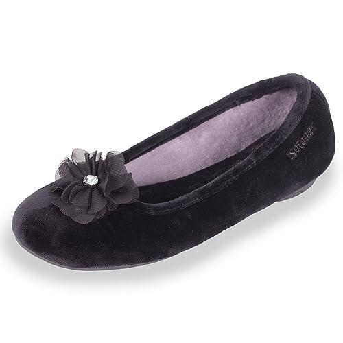 Zapatillas Bailarinas Mujer Isotoner 38: Amazon.es: Zapatos y complementos