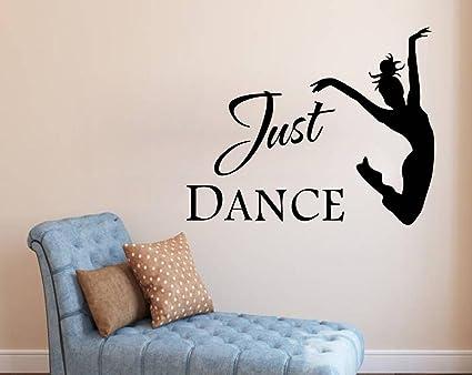 Luke and Lilly Girl and Dance Design Vinyl Wall Sticker (75 * 60cm)