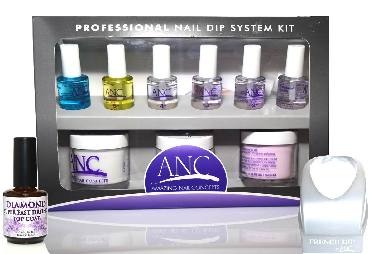 Amazon.com: Nail Dipping Powder System Kit By Amazing Nail Concepts ...