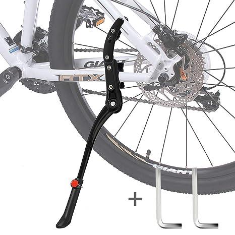 Pata de Cabra Bicicleta,DIAOCARE Aleación Ajustable Lateral de ...