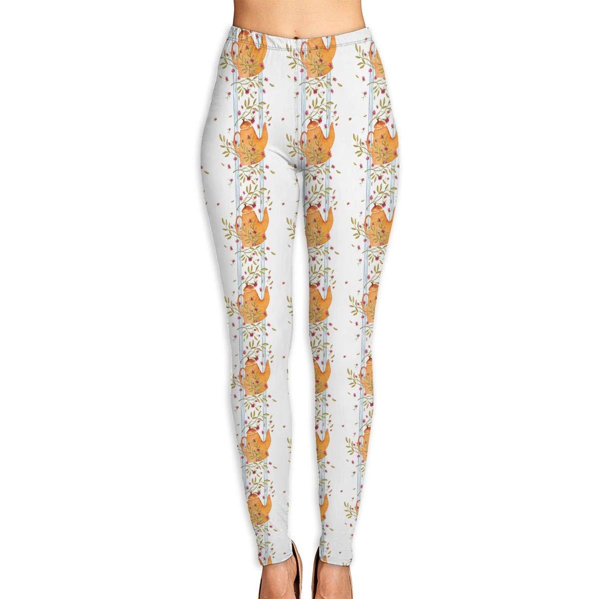 Amazon.com: KLYUJIA Yoga Pants, Womens Power Flex Teapot ...