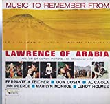 Various: Music To Remember Lawrence Of Arabia LP VG+/VG++ Canada United Artists