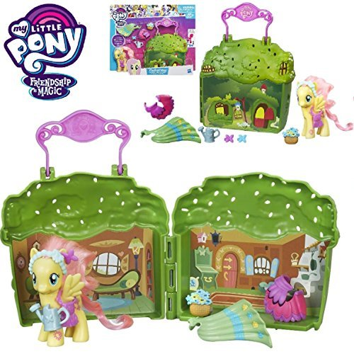 My Little Pony Friendship is Magic - FLUTTERSHY COTTAGE PLAYSET - Store & Carry