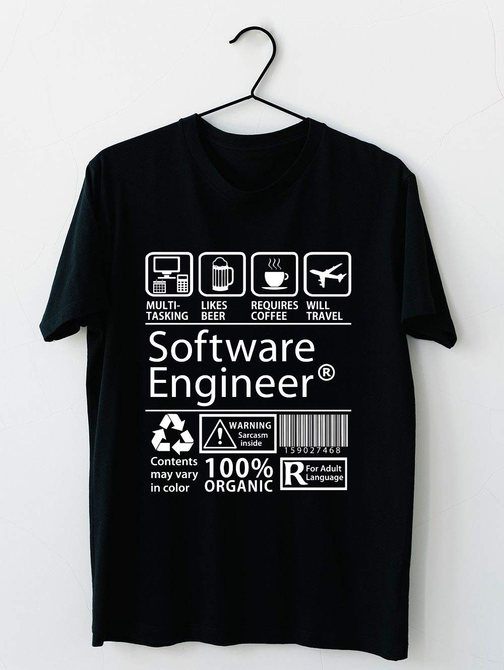 Software Engineer T Shirt For Unisex