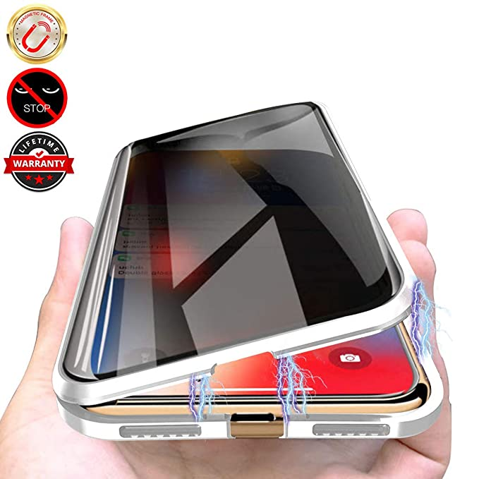 tempered glass magnetic case iphone xr