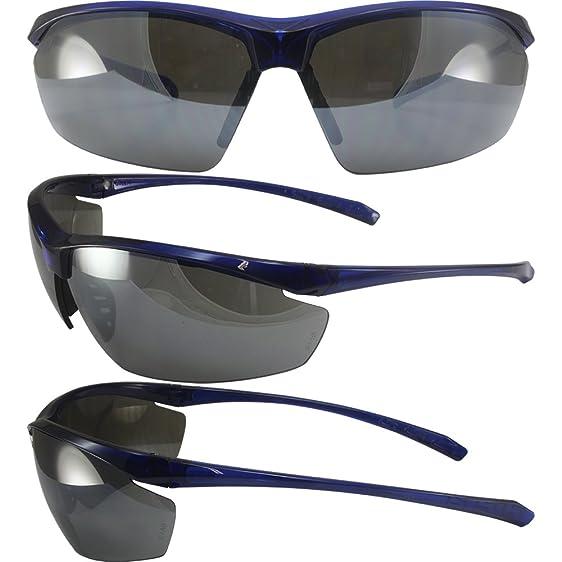 Lt Military Approve Sunglasses Blue Frames Flash Mirror ANSI Z87.1+ ...