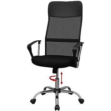 VidaXL Bürostuhl Drehstuhl Schreibtischstuhl Chefsessel Bürodrehstuhl  61,5x60cm