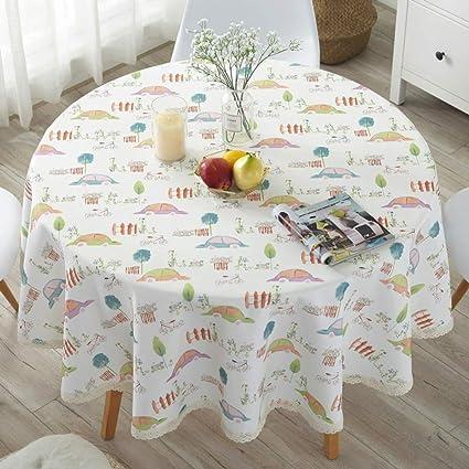Large Round Table Cloth.Amazon Com European Tablecloth Table Cloth Fabric Lattice Large