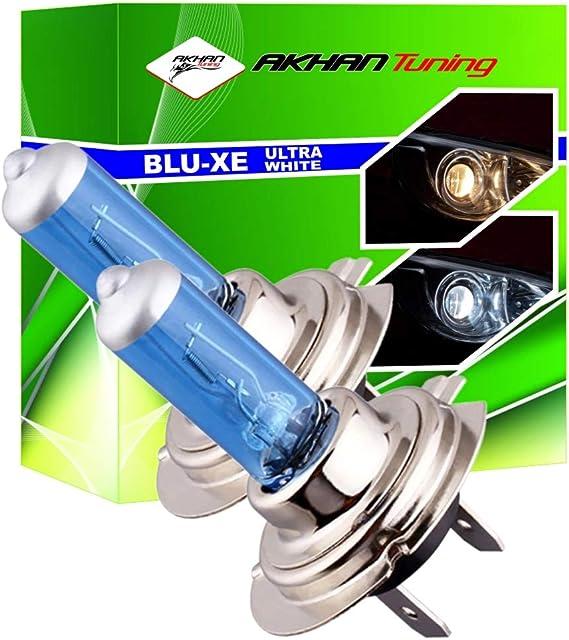 Akhan H755w Xenon Look Halogen Lampen Set H7 12v 55w Super White Auto