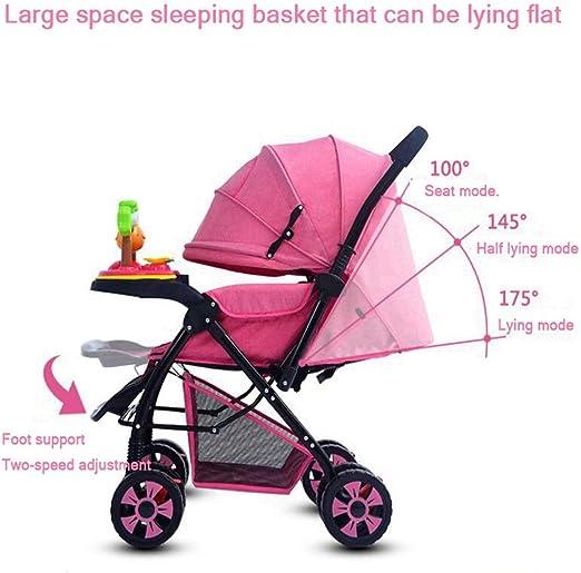 Cochecitos de bebé marcas Can Flat Lie plegable alto paisaje