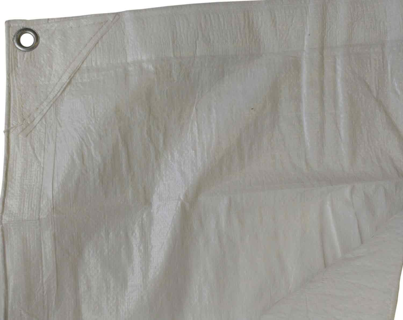 Kotap 15-ft x 20-ft Fire-Retardant White Tarp FR-1520 Kotap America Ltd. Item