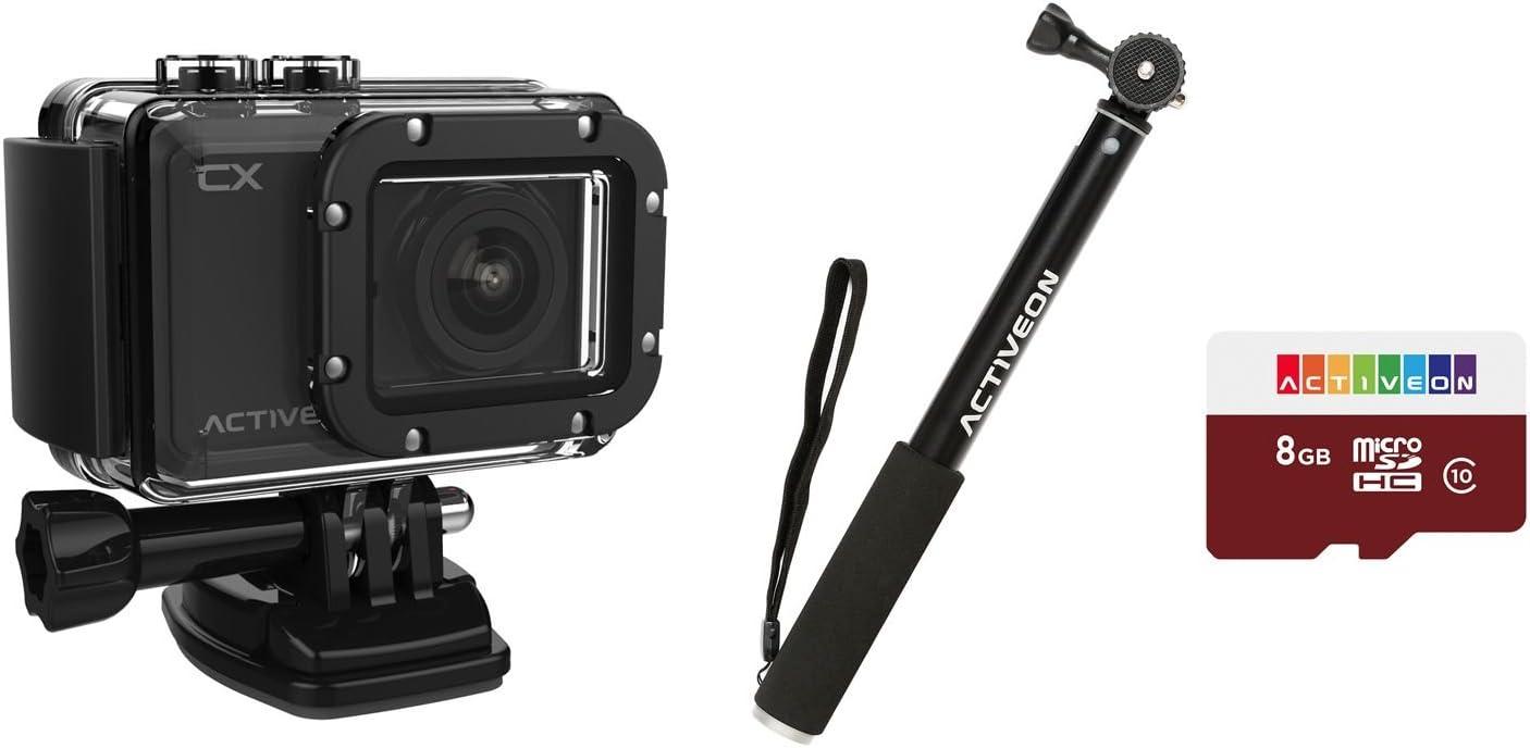Amazon Com Activeon Cx Action Camera Bundle Camera Photo