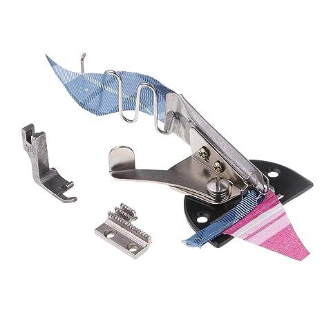 IPOTCH Profesional Carpeta de Doble Ángulo para Máquina de Coser Industrial Accesorios - 30mm