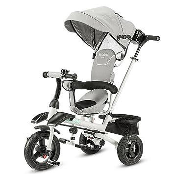 MYS C-K-P Cochecito de bebé, Triciclo Plegable, sombrilla, Almacenamiento, Bicicleta para niños: Amazon.es: Hogar