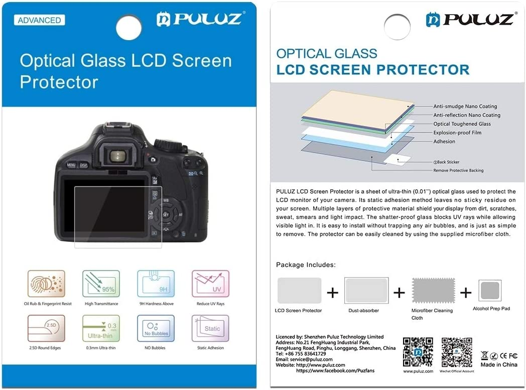 MEETBM ZIMO,2.5D 9H Tempered Glass Film for Canon 100D G1X2 M3 Compatible with Canon 100D