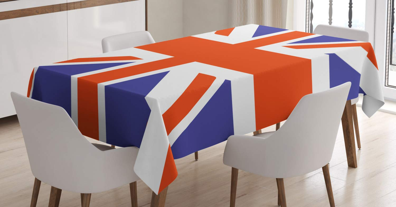 can you do interior design without a degree union jack bedroom design decoration Ambesonne Union Jack Tablecloth, Classic Traditional Flag United Kingdom  Modern British Loyalty, Dining Room Kitchen Rectangular Table Cover, ...