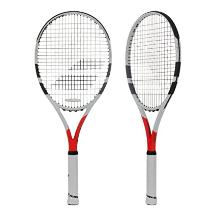Amazon Com Babolat Boost Strike Tennis Racquet 4 1 2 Sports