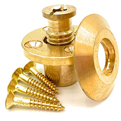Buy Wood Deck Brass Anchor With Collar For Pool Safety Cover Universal Replacement For In Ground Swimming Pool Safety Covers And Mesh Covers Online In Indonesia B00vpgvbgk
