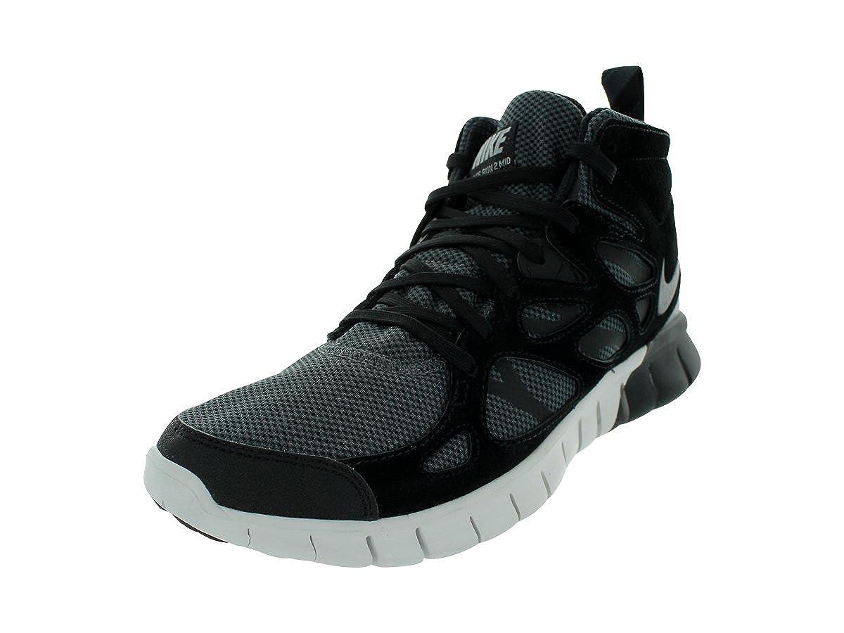 872e1bfa74fa NIKE Free Run 2 Sneakerboot Mens Running Shoes 616744-003 Black 11.5 M US   Amazon.co.uk  Shoes   Bags