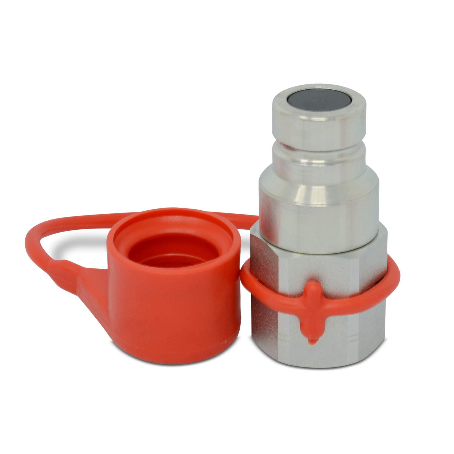 3//4/″ Flat Face High Flow Hydraulic Quick Connect Male Coupler 3//4/″ NPT Thread Summit Hydraulics