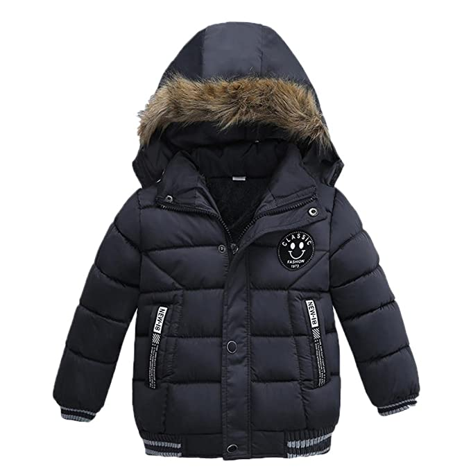 8c4dc90cd Amazon.com  Kintaz Baby Girl Boy Winter Parka Down Coat Puffer ...