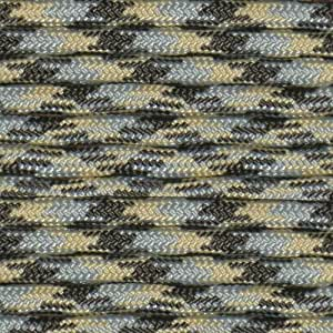 ACU Camo 10' Paracord Hero 10' 20' 50' 100' Hanks Parachute 550 Cord Type III 7 Strand Paracord - Largest Paracord Selection